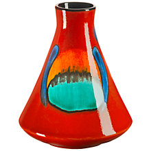 Buy Poole Volcano Conical Bud Vase, H12cm Online at johnlewis.com