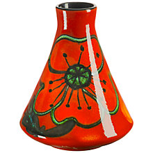 Buy Poole Poppyfield Conical Bud Vase, H12cm Online at johnlewis.com
