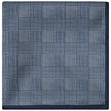 Buy Jaeger Prince of Wales Silk Pocket Square Online at johnlewis.com