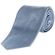 Buy Jaeger Plain Textured Silk Tie Online at johnlewis.com