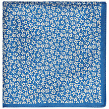 Buy Jaeger Floral Silk Pocket Square Online at johnlewis.com