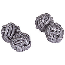 Buy Jaeger Silk Knot Cufflinks Online at johnlewis.com