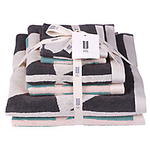 Buy Orla Kiely Square Flower 6 Piece Towel Bale Online at johnlewis.com