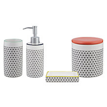 Buy House by John Lewis Isometric Bathroom Accessories Online at johnlewis.com