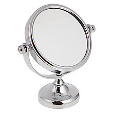 Buy John Lewis Elfin Mini Magnifying Pedestal Mirror Online at johnlewis.com