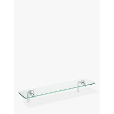 John Lewis Flow Bathroom Shelf
