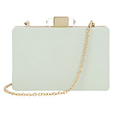 Buy Oasis Hard Clutch Bag Online at johnlewis.com