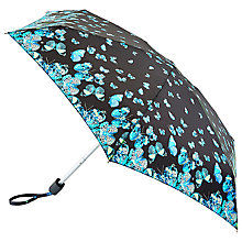 Buy Fulton Tiny 2 Butterfly Umbrella, Turquoise Online at johnlewis.com