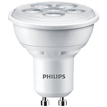 Buy Philips 4.5W GU10 LED Spotlight Bulb Online at johnlewis.com
