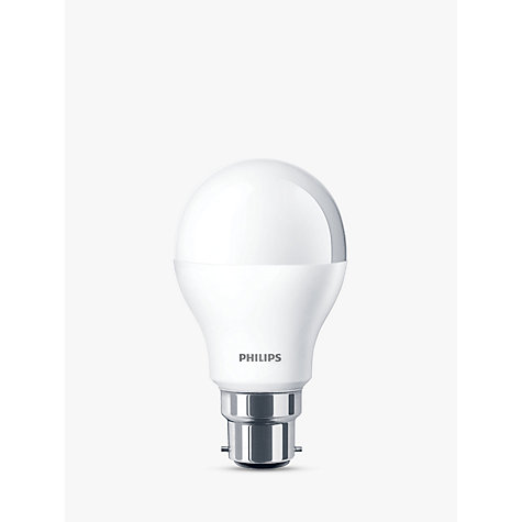 buy philips 6w bc led classic light bulb frosted john lewis. Black Bedroom Furniture Sets. Home Design Ideas