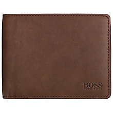 Buy BOSS Berkol Coin Wallet, Brown Online at johnlewis.com