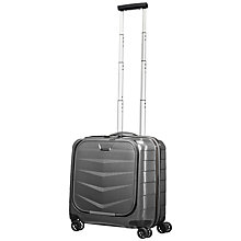 Buy Samsonite Lite-Biz 4-Wheel Tote Small Cabin Suitcase Online at johnlewis.com