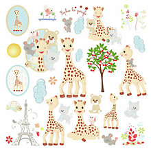 Buy Roommates Sophie the Giraffe Assorted Wall Stickers Online at johnlewis.com
