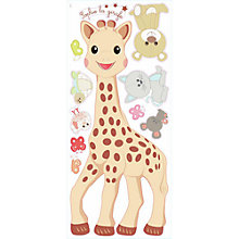 Buy Roommates Sophie the Giraffe and Friends Wall Stickers Online at johnlewis.com