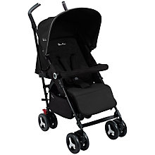 Buy Silvercross Reflex Pushchair, Black Online at johnlewis.com