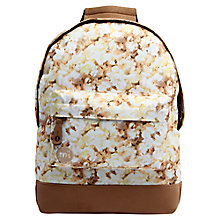 Buy Mi-Pac Mini Popcorn Backpack, Brown Online at johnlewis.com