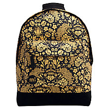 Buy Mi-Pac Russian Dolls Backpack, Black/Gold Online at johnlewis.com