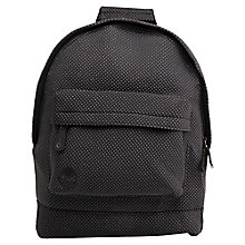 Buy Mi-Pac Neoprene Dot Backpack, Black Online at johnlewis.com