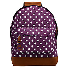 Buy Mi-Pac Mini All Stars Backpack, Purple Online at johnlewis.com