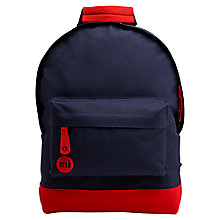 Buy Mi-Pac Mini Classic Blackpack, Navy/Red Online at johnlewis.com