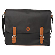 Buy Mi-Pac Messenger Bag, Black Online at johnlewis.com
