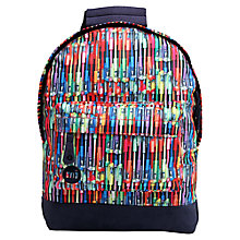 Buy Mi-Pac Mini Pens Print Backpack, Multi Online at johnlewis.com