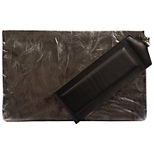 Buy Gerard Darel Greenwich Jane Clutch Bag, Silver Online at johnlewis.com