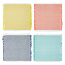 Buy John Lewis Fiesta Napkins, Set of 4 Online at johnlewis.com