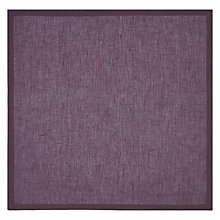 Buy John Lewis Croft Linen Napkin, Fig Online at johnlewis.com
