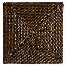 Buy John Lewis Square Rattan Placemat Online at johnlewis.com