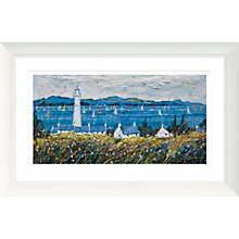Buy Deborah Phillips - Breezy Regatta, 52 x 107cm Online at johnlewis.com