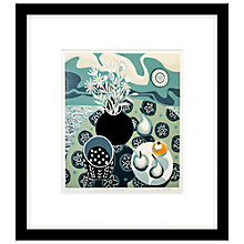 Buy Jane Walker - Flowers Fruit and Sea, Limited Edition Framed Print, 53 x 50cm Online at johnlewis.com