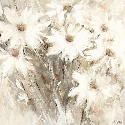 Adelene Fletcher - White Blaze, 58 x 58cm