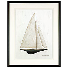 Buy David Carter Brown - Sailboat 2, 59 x 48cm Online at johnlewis.com