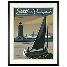 Buy Anderson Design Group - Martha's Vineyard Dusk, 63 x 50cm Online at johnlewis.com
