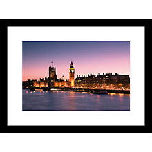 Buy Joseph Eta - Evening View, Houses of Parliament Limited Edition Print, 55 x 40cm Online at johnlewis.com