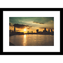 Buy Joseph Eta - Sunset View, Tower Bridge, 55 x 40cm Online at johnlewis.com