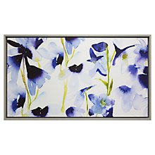 Buy Fi Douglas - Harebelle, Framed Canvas Print, 60 x 103cm Online at johnlewis.com