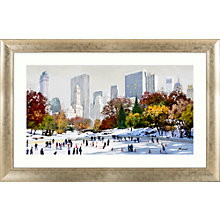 Buy Richard Macneil - Skating In New York, 72 x 112cm Online at johnlewis.com