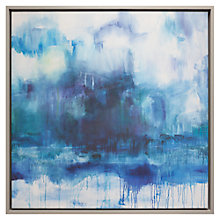 Buy Fi Douglas of Bluebellgray - Stornoway, Framed Canvas, 82 x 82cm Online at johnlewis.com