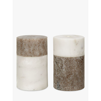 John Lewis Arundel Marble Salt & Peper Holder