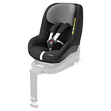 Buy Maxi-Cosi 2way Pearl i-Size Group 1 Car Seat, Black Raven Online at johnlewis.com