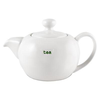 Image of Keith Brymer Jones Word 'Tea' Teapot
