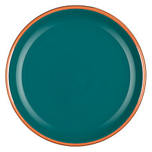 Buy John Lewis Al Fresco Side Plate, Teal Online at johnlewis.com