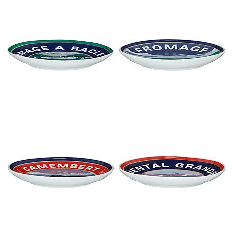 Buy john lewis alpine 12cm canape plates set of 4 john for Canape plate size