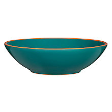 Buy John Lewis Al Fresco Small Bowl, Teal Online at johnlewis.com
