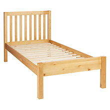 Buy John Lewis Wilton Child Compliant Bedstead, Single Online at johnlewis.com