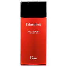 Buy Dior Fahrenheit Foaming Shower Gel, 200ml Online at johnlewis.com