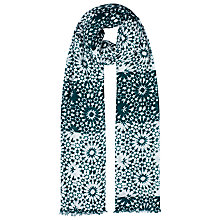 Buy Whistles Mosaic Print Scarf, Green Online at johnlewis.com