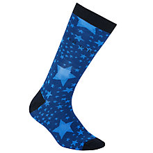 Buy Ted Baker Star Pattern Socks, One Size, Blue Online at johnlewis.com